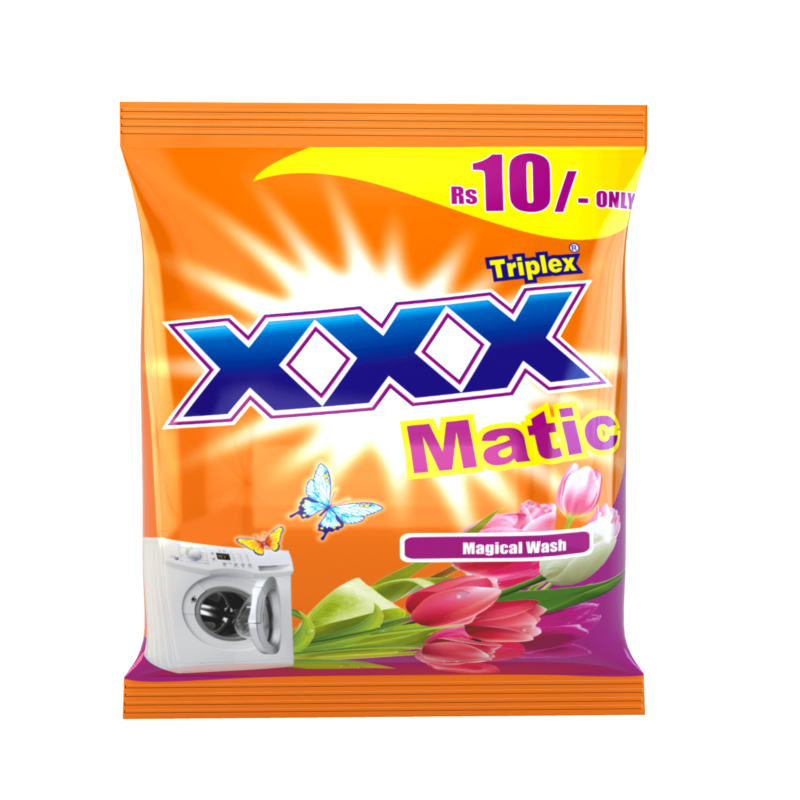 XXX Matic Sachet Detergent Powder